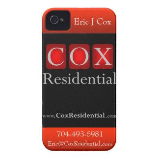Caso residencial del iPhone de $cox iPhone 4 Case-Mate Carcasa