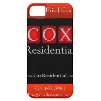 Caso residencial del iPhone de $cox Funda Para iPhone 5 Barely There