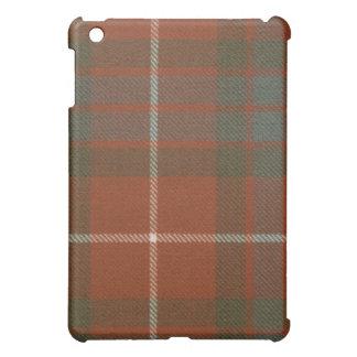 Caso resistido rojo del iPad del tartán de Fraser