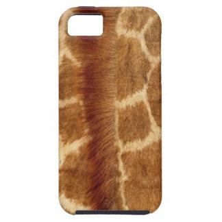 Caso reticulado del iPhone del modelo de la jirafa iPhone 5 Fundas