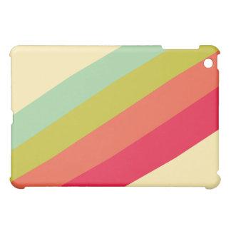 Caso retro de la cubierta del iPad del arte de la