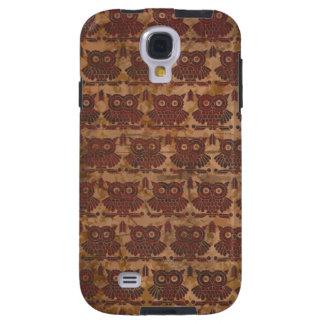 Caso retro de Samsung S2 de los búhos del modelo Funda Galaxy S4