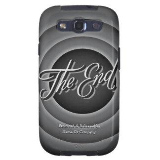 Caso retro de Samsung S3 de la pantalla de la conc Galaxy SIII Fundas