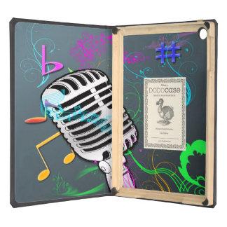Caso retro del DODO del aire del iPad de la música