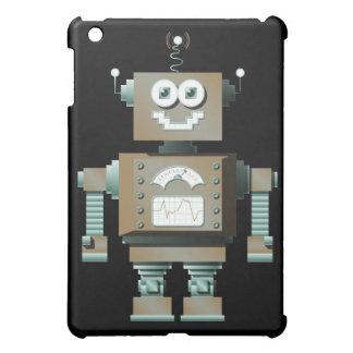 Caso retro del iPad del robot del juguete (DK)