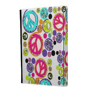 Caso retro del iPad del signo de la paz