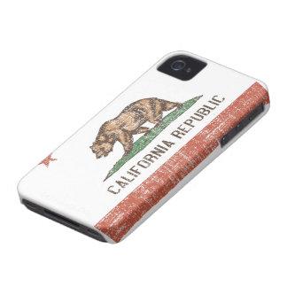 Caso retro del iPhone 4 de la bandera del estado iPhone 4 Fundas