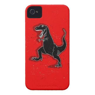 Caso retro del iPhone 4 del dinosaurio iPhone 4 Funda