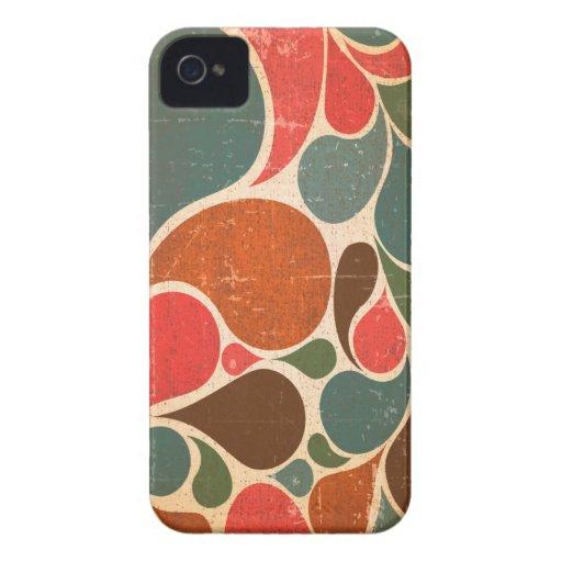 Caso retro del iPhone 4 del estilo del vintage Case-Mate iPhone 4 Cárcasas
