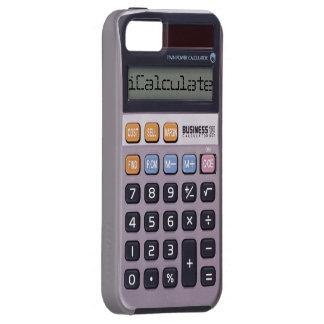 Caso retro del iPhone 5/5S de la calculadora del Funda Para iPhone SE/5/5s