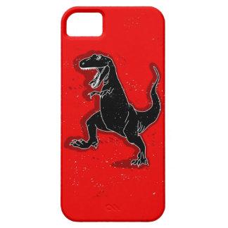 Caso retro del iPhone 5 del dinosaurio iPhone 5 Fundas