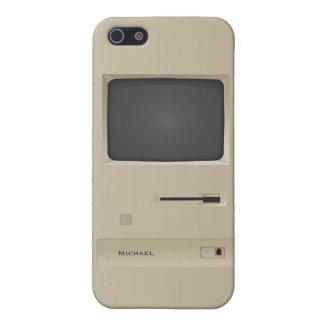 Caso retro del iPhone 5 del ordenador de la PC del iPhone 5 Carcasa