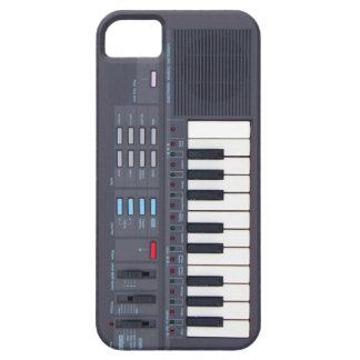 Caso retro del iPhone 5 del teclado de la música e iPhone 5 Case-Mate Cobertura