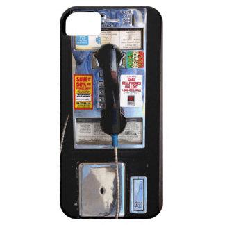Caso retro del iPhone 5 del teléfono público iPhone 5 Case-Mate Fundas