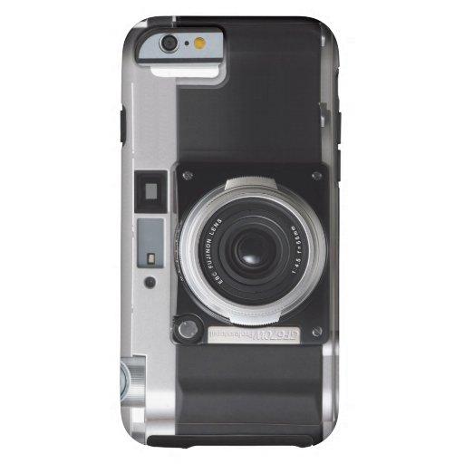 Caso retro del iPhone 6 de la cámara de la Funda De iPhone 6 Tough