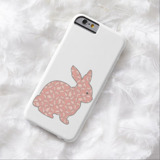 Caso retro del iPhone 6 del conejo de conejito del Funda Para iPhone 6 Barely There