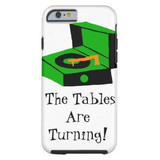 Caso retro del iPhone 6 del tocadiscos Funda De iPhone 6 Tough