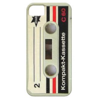 Caso retro del iPhone de la cinta de casete Funda Para iPhone SE/5/5s