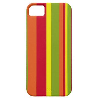 Caso retro del iPhone de las rayas iPhone 5 Carcasa