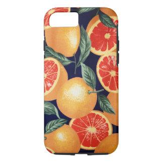 Caso retro del iPhone de los naranjas del vintage Funda iPhone 7