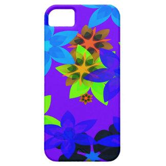 Caso retro del iPhone del arte del hippy del iPhone 5 Carcasas