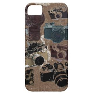 Caso retro del modelo iphone5 de las cámaras del G iPhone 5 Protectores