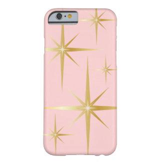 Caso retro elegante del iPhone 6 de Starburst - Funda Para iPhone 6 Barely There