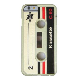 caso retro geeky del iPhone 6 del casete del Funda De iPhone 6 Barely There