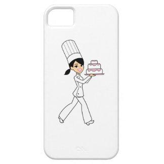 Caso retro lindo de Kawaii del dibujo animado para iPhone 5 Carcasa