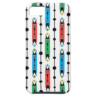 Caso retro puntiagudo del iphone 5 iPhone 5 Case-Mate fundas