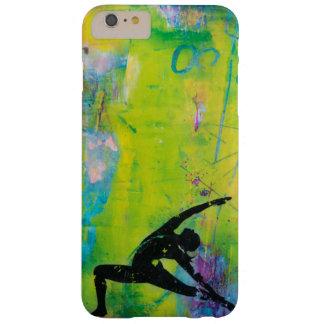 Caso reverso del iPhone del chica de la yoga del Funda Barely There iPhone 6 Plus
