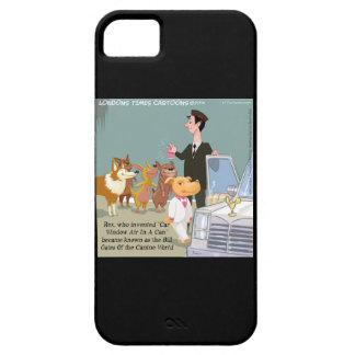 Caso rico divertido del iPhone 5 del perro iPhone 5 Carcasas