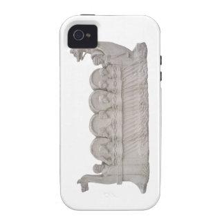 Caso romano de Wineship Case-Mate iPhone 4 Carcasa