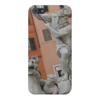 Caso romano del iPhone 4 de la plaza iPhone 5 Funda
