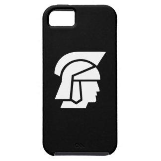 Caso romano del iPhone 5 del pictograma del soldad iPhone 5 Case-Mate Cárcasas