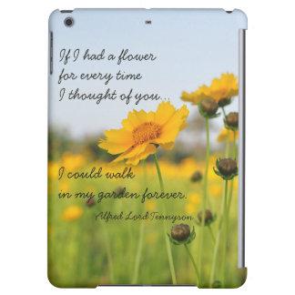 Caso romántico del iPad de la cita del amor del