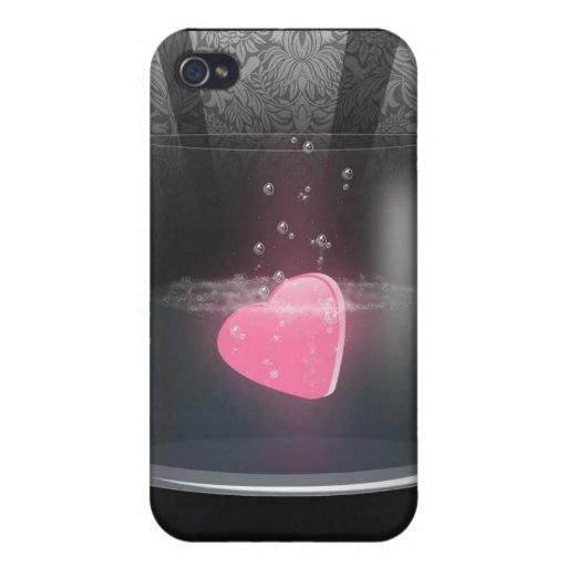 caso romántico iPhone 4 carcasas