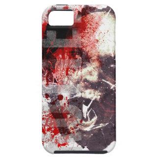 Caso rompedor de cristal del iPhone del zombi Funda Para iPhone 5 Tough