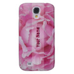 Caso rosa claro del iPhone del Peony