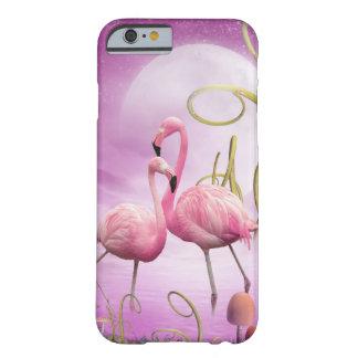 Caso rosado caprichoso del iPhone 6 de los Funda Barely There iPhone 6