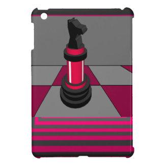 Caso rosado CricketDiane del iPad del tablero de