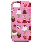 Caso rosado de Apple Iphone del modelo del caramel iPhone 5 Case-Mate Cobertura