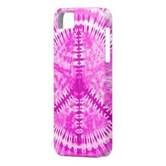 Caso rosado de Barely There del iPhone 5 de la paz iPhone 5 Fundas