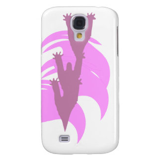 Caso rosado de Halloween Iphone de tres espectros Funda Para Galaxy S4