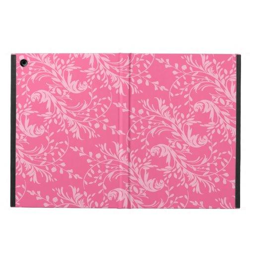 Caso rosado de los powis del aire del ipad de los