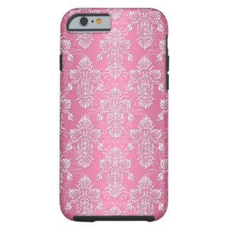 Caso rosado de lujo femenino del iPhone 6 del Funda De iPhone 6 Tough