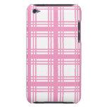 Caso (rosado) de marfil del tacto de iPod del tart iPod Touch Protectores