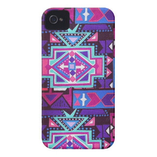 caso rosado de Navajo del iPhone 4 4s iPhone 4 Cobertura