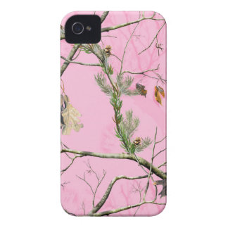 Caso rosado del chica IPHONE 4 de la caza del iPhone 4 Case-Mate Fundas