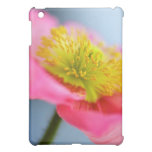Caso rosado del iPad de la amapola